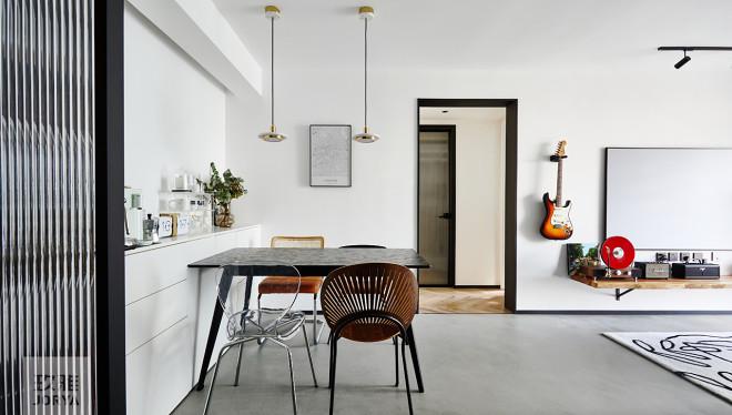 62㎡精致小家,书房&衣帽间一体式设计