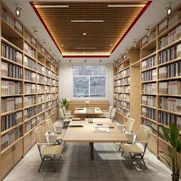 学校阅览室设计_1616224701_4401361
