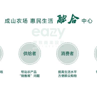"""西安""""最美菜市""""—成山农场「壹致设计」_1616385212_4402231"""