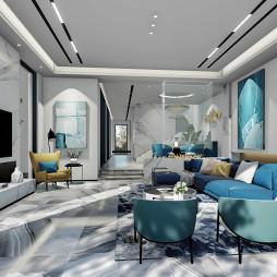 别墅设计-宁静的现代轻奢_4403030