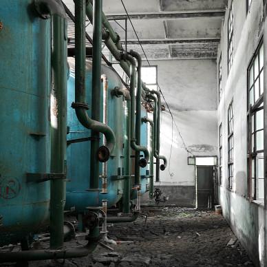 蓝孔雀涅槃 | 杭州化纤厂旧址改造设计_1617759008_4413715