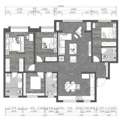 儿童乐园+老家具+大套间,三代人的理想家_1618204797_4418438