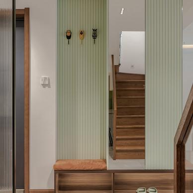 别墅空间改造—是有闲有情的温暖_1618299951_4419388