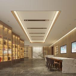 某公司餐厅会所设计_1618369094_4419901