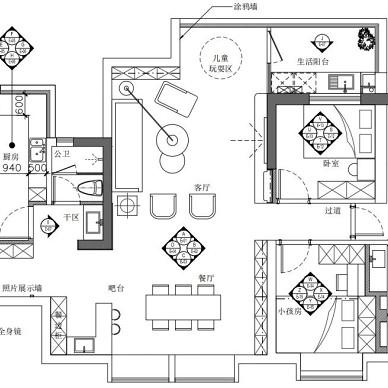 简约之下的一厅三室,各有别样精致!_4420694