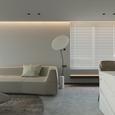 130 m²现代简约设计,看一眼就心动_4422026