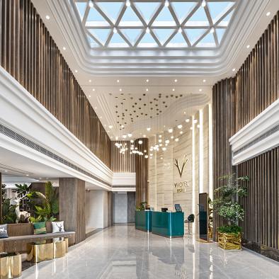 广州白云区辉悦酒店设计