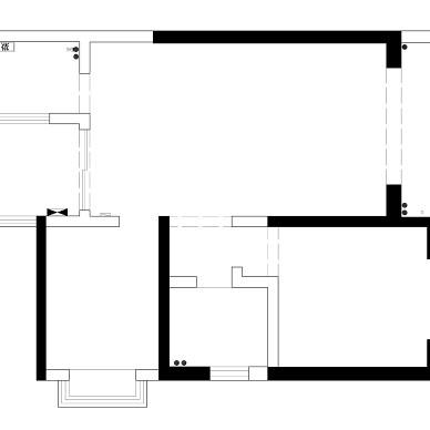 大大的小屋 70m2极限改造 两房改三房_1620227636_4436444