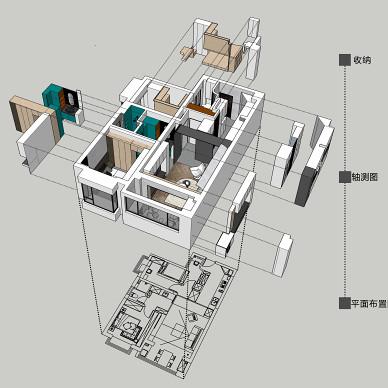 大大的小屋 70m2极限改造 两房改三房_1620227663_4436449