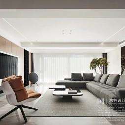 200㎡现代轻奢,用线条勾勒优雅舒适空间_1620442760_4437968