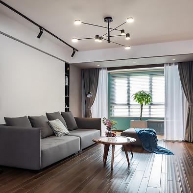 用愉悦色彩装点个性北欧小清新住宅