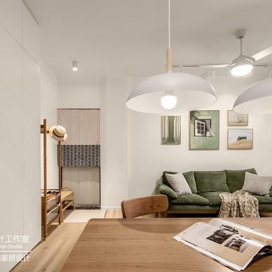 客廳與餐廳隔斷這樣設計,省空間還高顏值!_1621045657_4443482