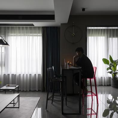 调性十足的三口之家,客户说360°的喜欢