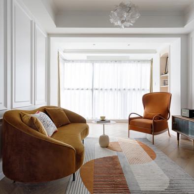 优雅的轻奢法式,素静的居家生活