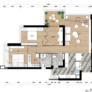 125平日式撸猫的理想之家
