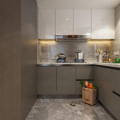 别墅大宅公寓样板间轻奢简约现代风设计装修_1622630020_4457741
