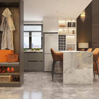 别墅大宅公寓样板间轻奢简约现代风设计装修_1622630023_4457746