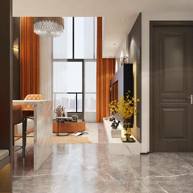 别墅大宅公寓样板间轻奢简约现代风设计装修_1622630027_4457750