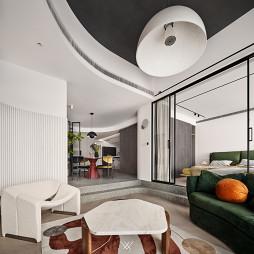 开放式卧室、厨房、茶室,这才是真正的通透_1623222935_4461676