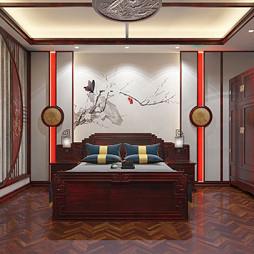 中式别墅红木装修_别墅中式红木装修整装_1623485053