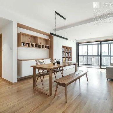 现代、中式、原木融合出一个清爽简洁的家_1623576586_4464335