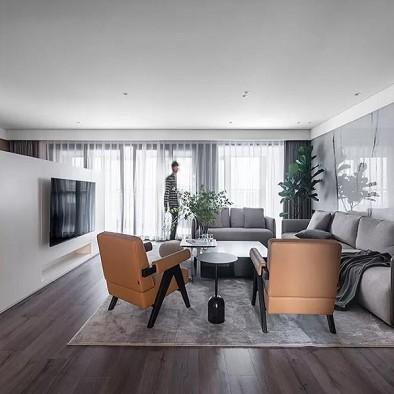 265㎡简约私宅,少就是多,简洁就是丰富