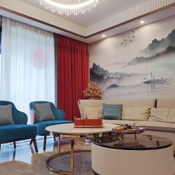 新中式设计——湛蓝云海_1625045786_4476525
