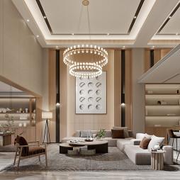 原木风格商品房别墅设计_1625382393_4479901