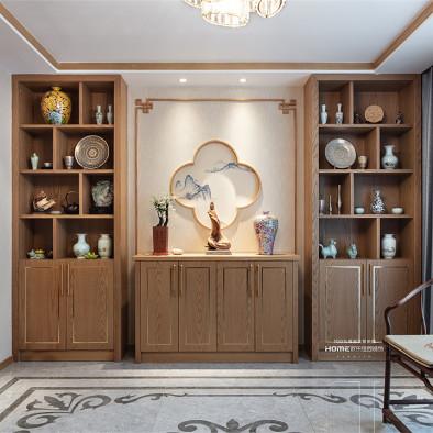 500平双拼别墅,中式的另一张完美演绎