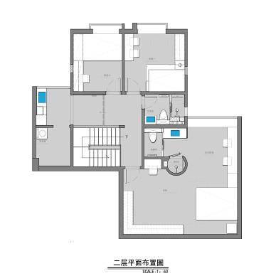 192㎡复式空间,实现家的多层次功能体验_1626248491