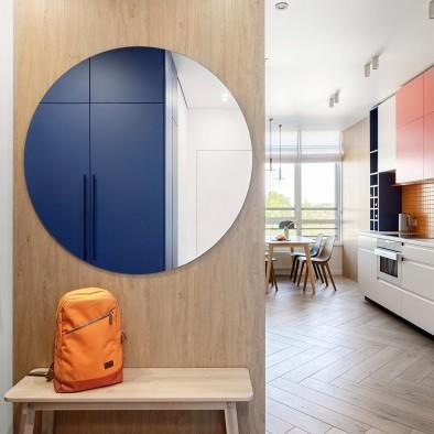 蒙德里安风格:明亮的配色反映了房子的动态