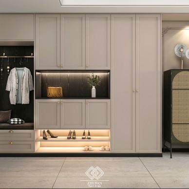 百平米空间设计,打造三口之家简单的快乐_1627026953_4492844