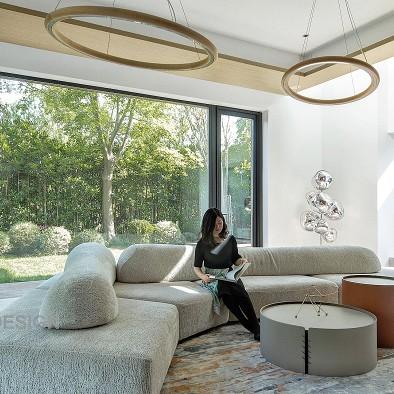 独栋别墅庭院下挖,奢阔空间,演绎理想生活