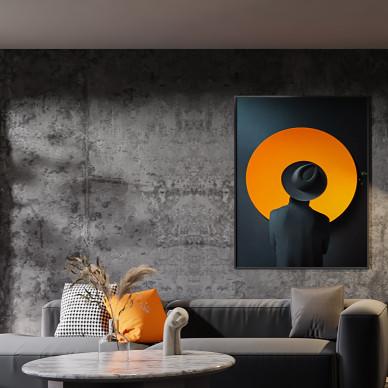前卫感暗黑系空间,理性与艺术的平衡之美_1628563461_4504207