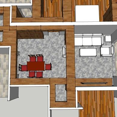 客厅空间精细化设计示例_1629280101_4512666