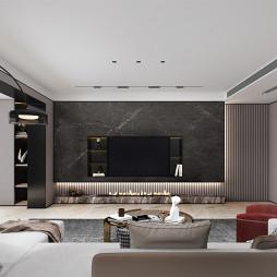 溪成设计丨黑白灰大宅,演绎品质生活_1629634140_4516552
