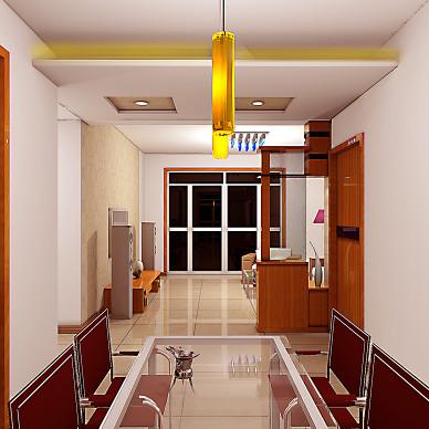 效果图客厅餐厅卧室 过道_1629635721_4516599