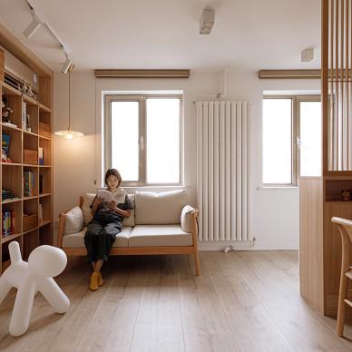 阳光满屋的日式2居,多窗户型也有超多收纳_1630812455_4529988