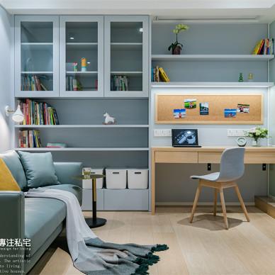 71㎡旧房改造:用这抹蓝调打造舒适的生活_1631153354_4533681