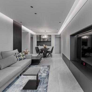 北京通州114㎡老房改造变身现代高级住宅