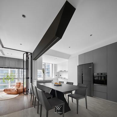 拥挤厨房变高级餐厅,精装房改造美到不敢认_1631691419_4539112