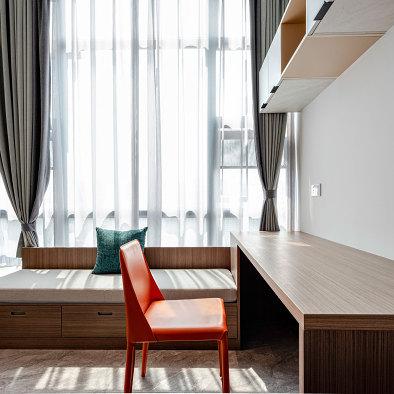 长空新作丨西南驿34㎡迷你公寓空间设计