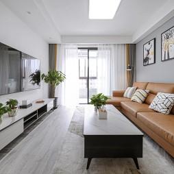 60平两居室现代简约—时尚生活新起点_1633076175_4552050