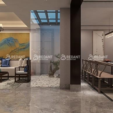 480平米别墅现代中式风格装修案例_1633750455_4555868