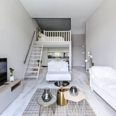 45平loft简约轻奢公寓,一人居的快乐_1634377045_4562917
