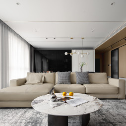 温暖又时髦的家,是不同质感肌理的共奏_1634731123_4567423